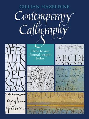 Contemporary Calligraphy By Hazeldine, Gillian
